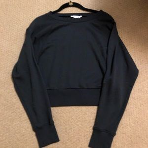 American Eagle cropped sweatshirt